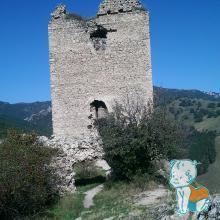 Cetatea Trascaului - Turnul nordic