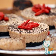 mini tarta caramel RAW 1