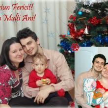 Familia noastra de Craciun - 2010-2011
