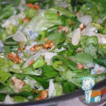 Salata verde cu branza albastra