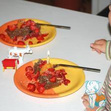 Tort vegan din cereale pentru copilasi