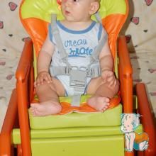 scaun de masa pentru bebelusi
